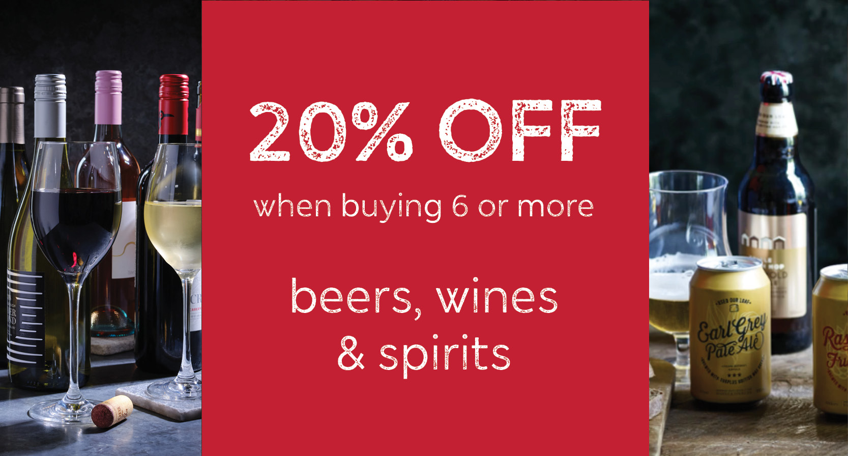 M&S Winedrop 20% off Wines Spirits Beer