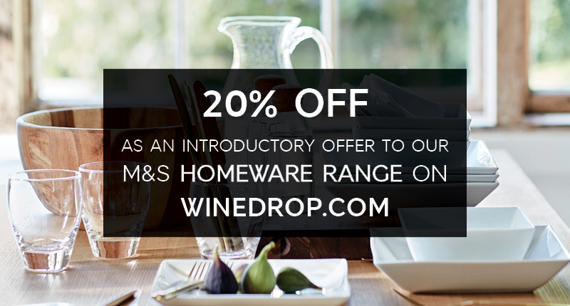 M&S Winedrop Kitchenware Homeware