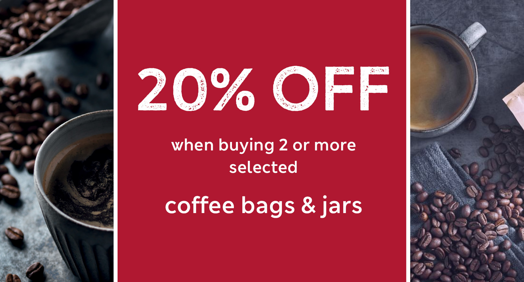 M&S Winedrop Coffee Bags & Jars